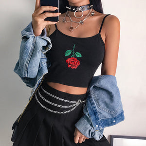 Upside Down Rose Cami