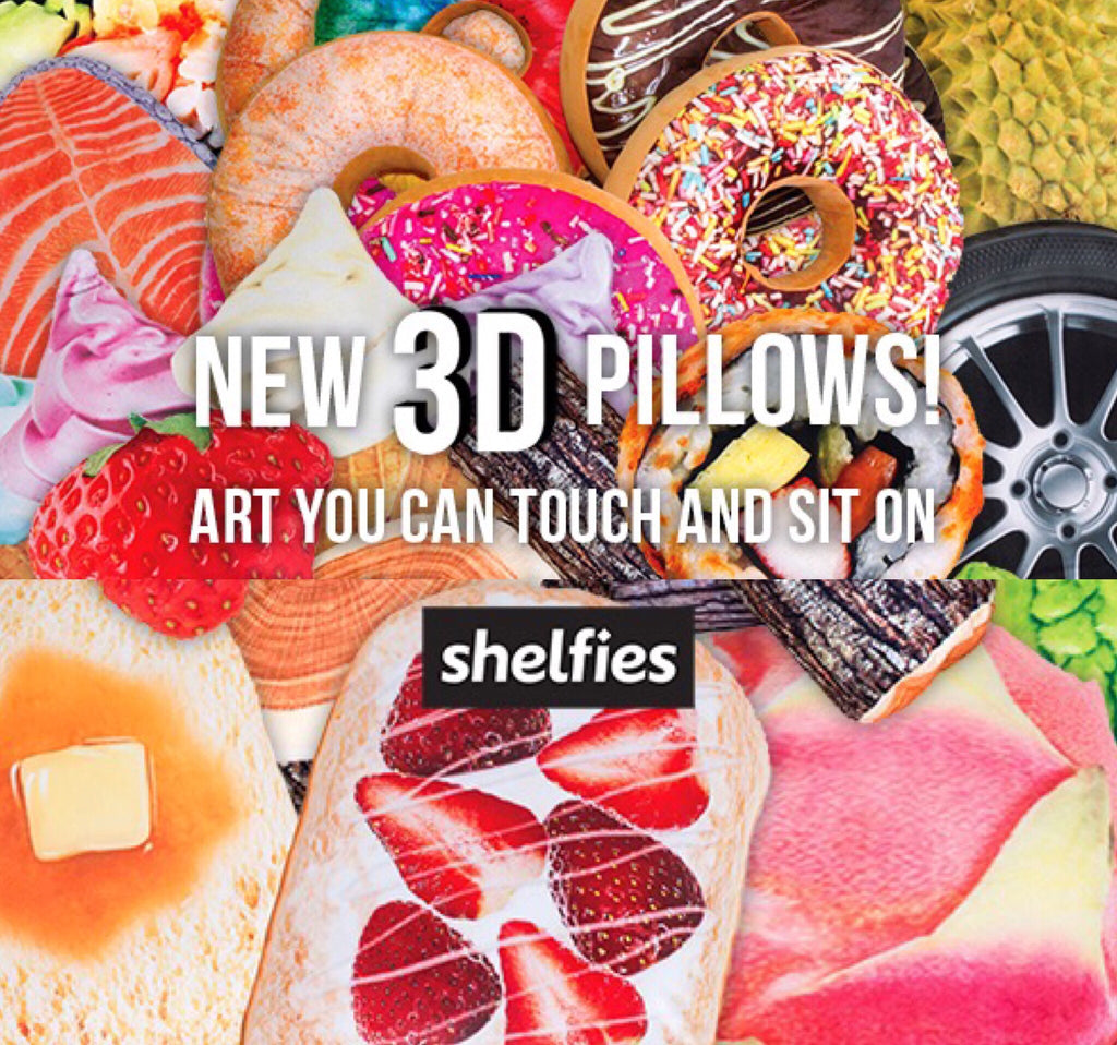 3D PILLOWS, BABY! The Perfect Home Decor