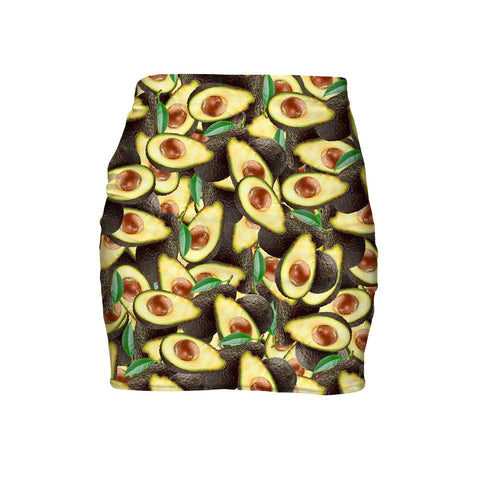 Avocado Miniskirt