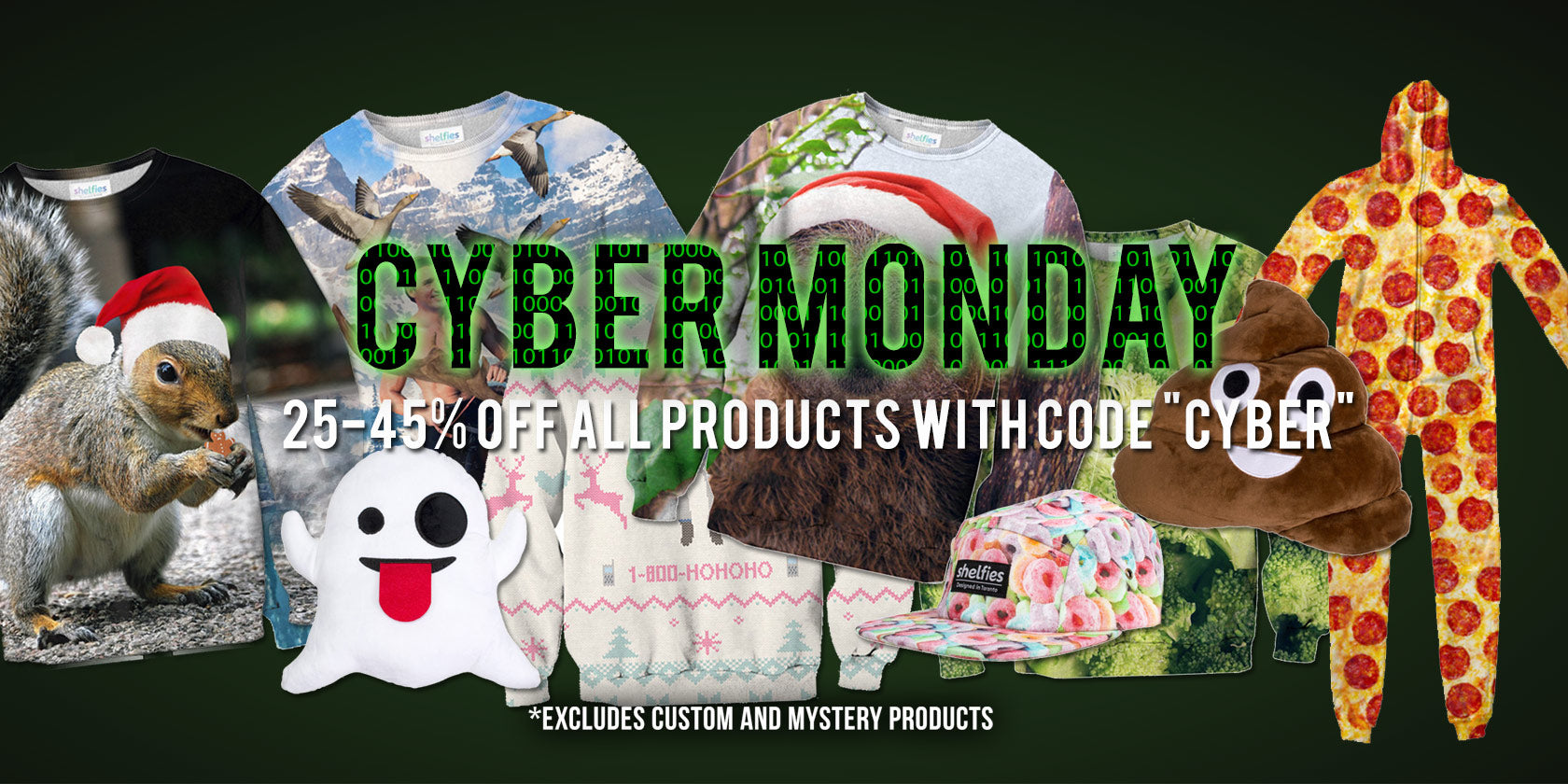 Shelfies Cyber Monday Deals