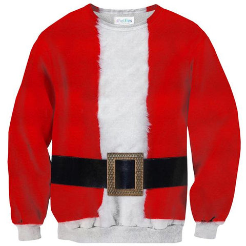Santa Belly Sweater