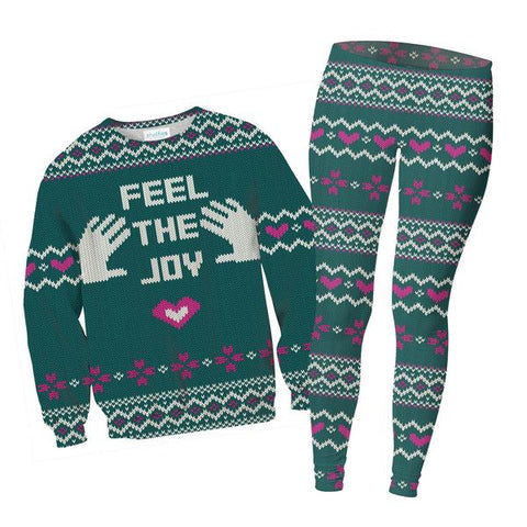 Feel The Joy Sweater and Leggings Combo