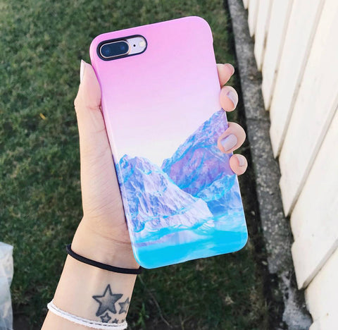 Pastel Mountains Smartphone Case