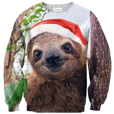 Christmas Sloth Shirt