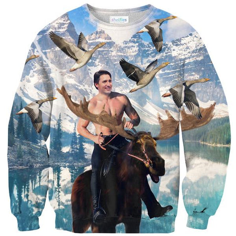 Justin Trudeau Sweater