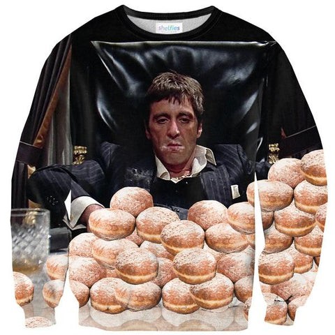 Tony Donuts Sweater