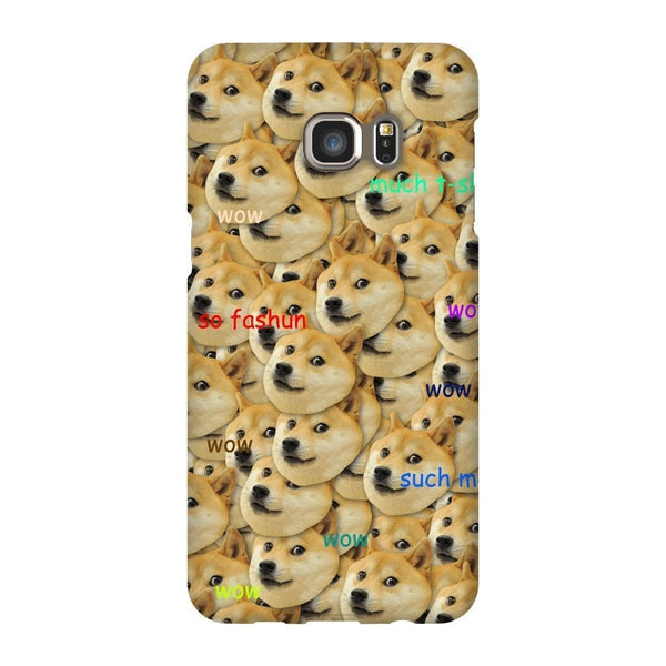 "Doge ""Much Fashun"" Invasion Smartphone Case-Gooten-Samsung S6 Edge Plus-