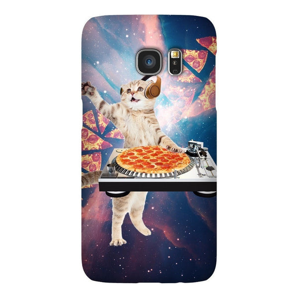 DJ Pizza Cat Smartphone Case-Gooten-Samsung Galaxy S7-| All-Over-Print Everywhere - Designed to Make You Smile