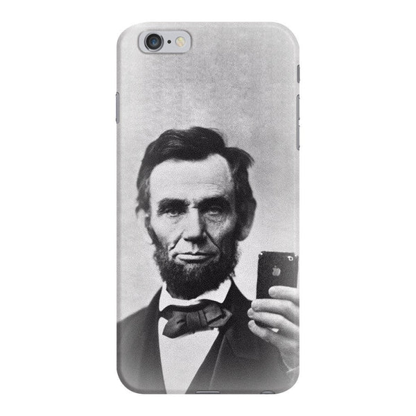 Abraham Lincoln Selfie Smartphone Case-Gooten-iPhone 6 Plus/6s Plus-| All-Over-Print Everywhere - Designed to Make You Smile