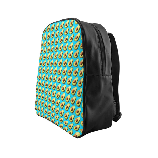Avocado Emoji Backpack-Printify-| All-Over-Print Everywhere - Designed to Make You Smile