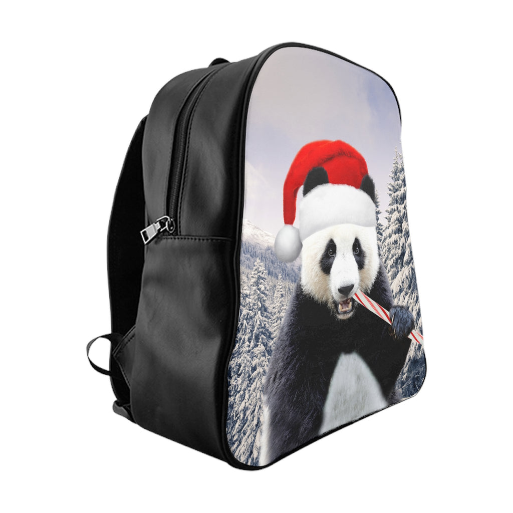 Santa Panda Backpack-Printify-Large-| All-Over-Print Everywhere - Designed to Make You Smile