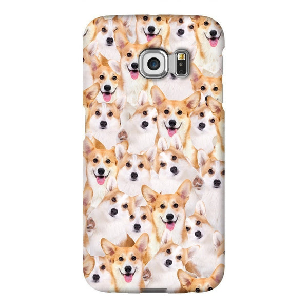 Corgi Invasion Smartphone Case-Gooten-Samsung S6 Edge-| All-Over-Print Everywhere - Designed to Make You Smile