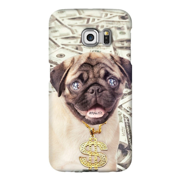 Thug Pug Smartphone Case-Gooten-Samsung S6 Edge-| All-Over-Print Everywhere - Designed to Make You Smile
