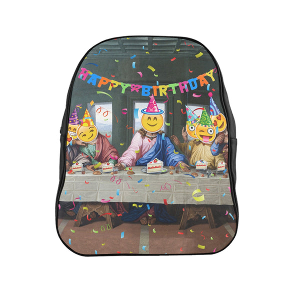 Happy Birthday Jesus Backpack-Printify-| All-Over-Print Everywhere - Designed to Make You Smile