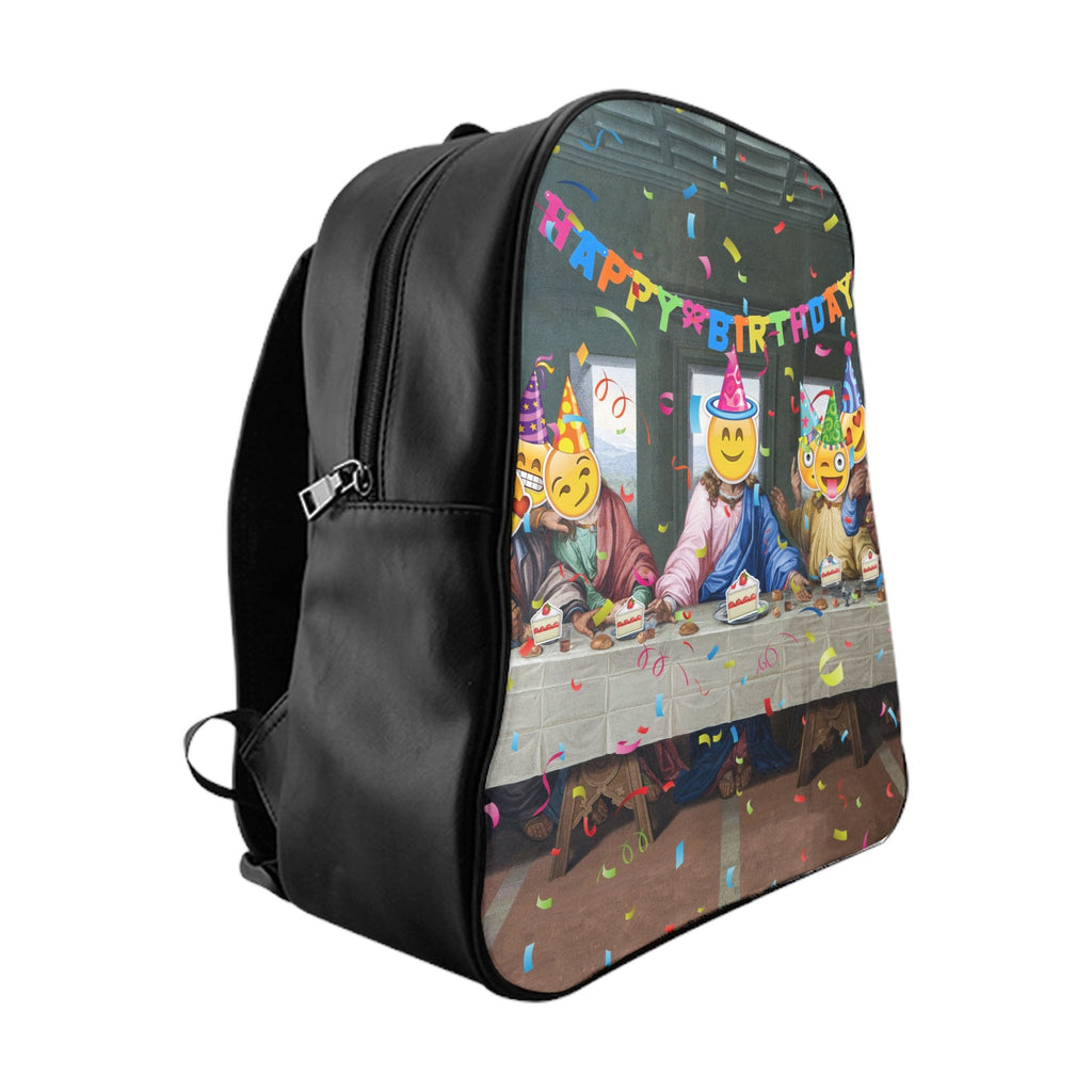 Happy Birthday Jesus Backpack-Printify-Large-| All-Over-Print Everywhere - Designed to Make You Smile