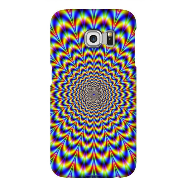 Fractal Pulse Smartphone Case-Gooten-Samsung Galaxy S6 Edge-| All-Over-Print Everywhere - Designed to Make You Smile