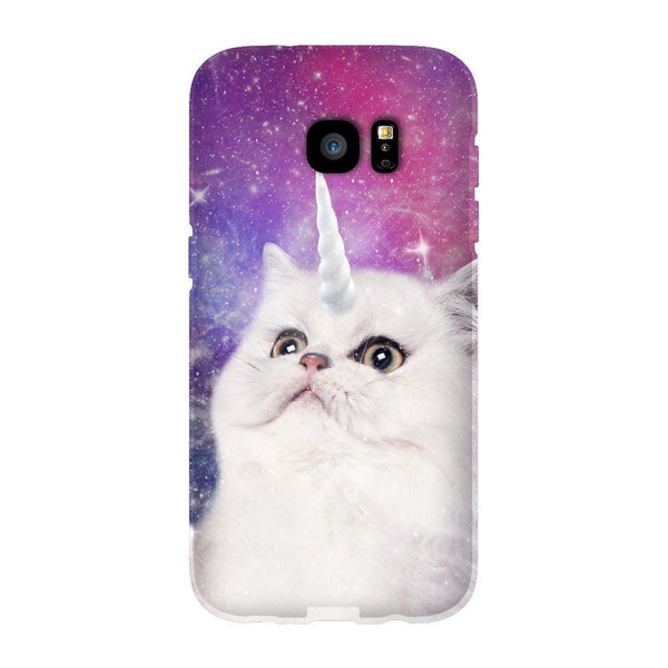 Unikitty Smartphone Case-Gooten-Samsung Galaxy S7 Edge-| All-Over-Print Everywhere - Designed to Make You Smile