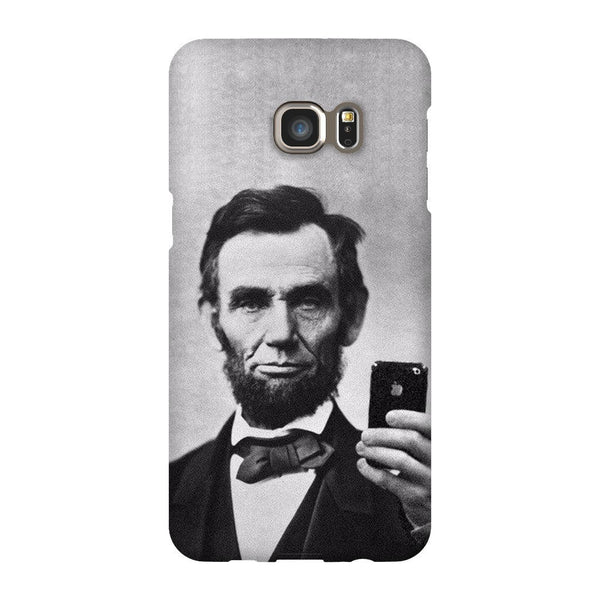 Abraham Lincoln Selfie Smartphone Case-Gooten-Samsung S6 Edge Plus-| All-Over-Print Everywhere - Designed to Make You Smile