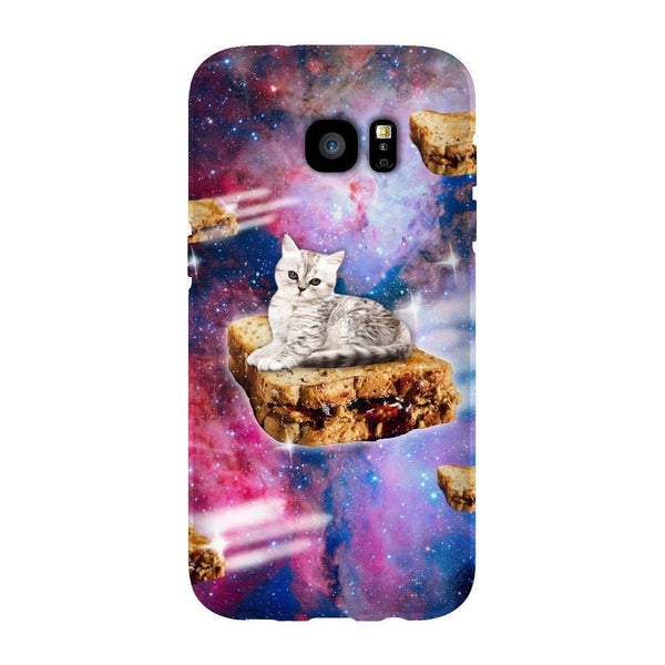 PB&J Galaxy Cat Smartphone Case-Gooten-Samsung S7 Edge-| All-Over-Print Everywhere - Designed to Make You Smile