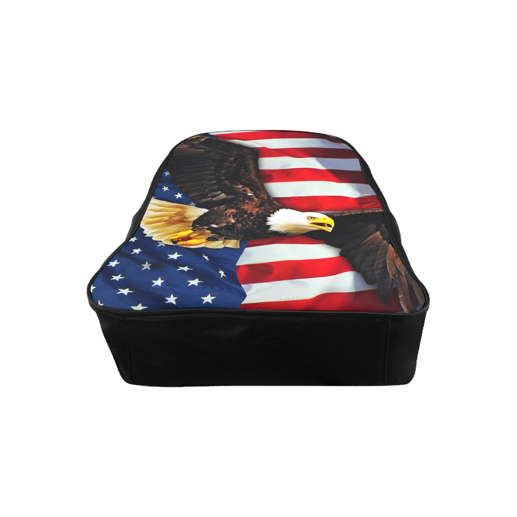 american flag backpack shelfies
