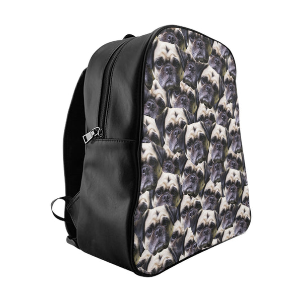 Animal Face Custom Backpack-Printify-Large-| All-Over-Print Everywhere - Designed to Make You Smile