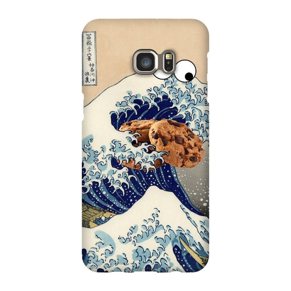 Great Wave of Cookie Monster Smartphone Case-Gooten-Samsung Galaxy S6 Edge Plus-| All-Over-Print Everywhere - Designed to Make You Smile