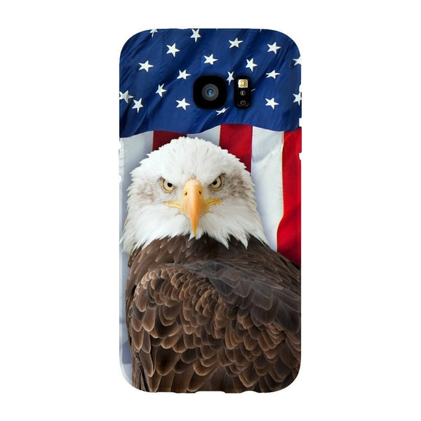 Bald Eagle Smartphone Case-Gooten-Samsung S7 Edge-| All-Over-Print Everywhere - Designed to Make You Smile