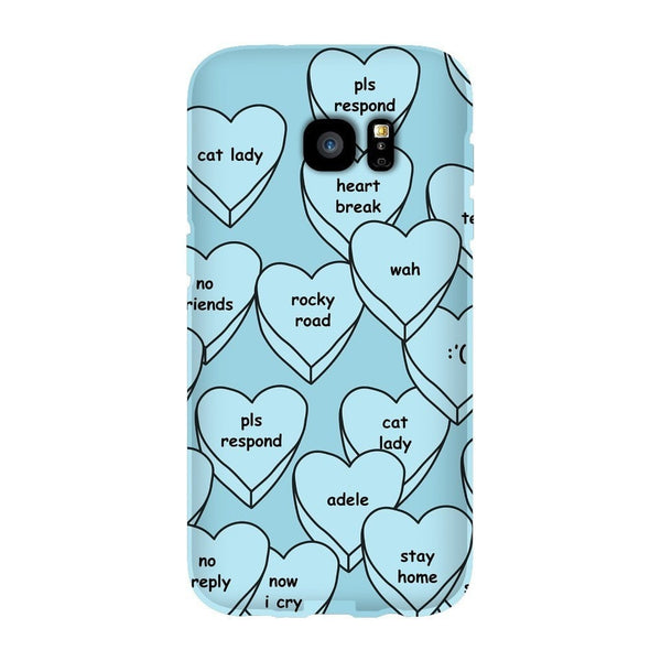 Blue Hearts Smartphone Case-Gooten-Samsung S7 Edge-| All-Over-Print Everywhere - Designed to Make You Smile