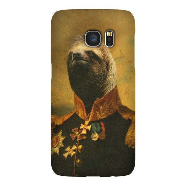 Commander Sloth Smartphone Case-Gooten-Samsung S7-| All-Over-Print Everywhere - Designed to Make You Smile