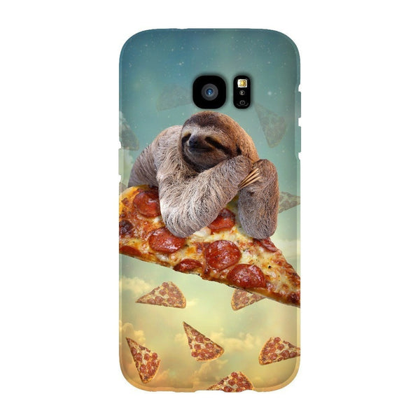 Sloth Pizza Smartphone Case-Gooten-Samsung Galaxy S7 Edge-| All-Over-Print Everywhere - Designed to Make You Smile