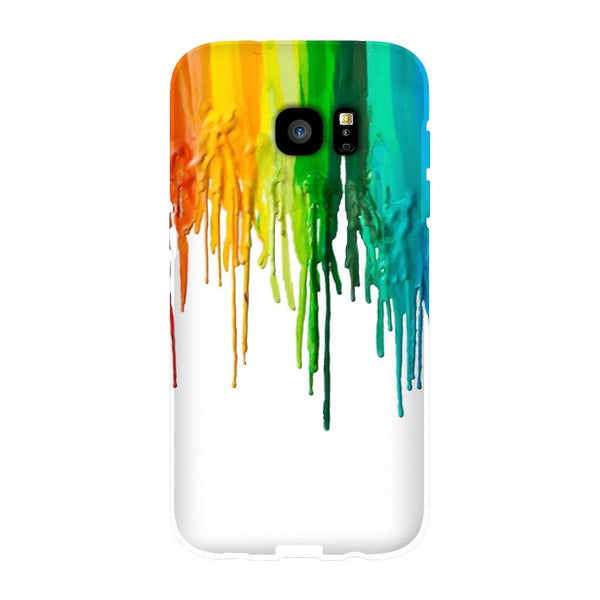 Melted Crayon Smartphone Case-Gooten-Samsung S7 Edge-| All-Over-Print Everywhere - Designed to Make You Smile