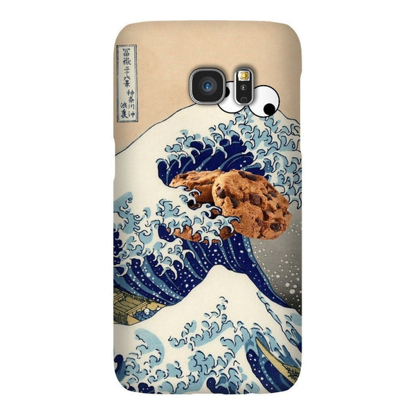 Great Wave of Cookie Monster Smartphone Case-Gooten-Samsung Galaxy S7-| All-Over-Print Everywhere - Designed to Make You Smile