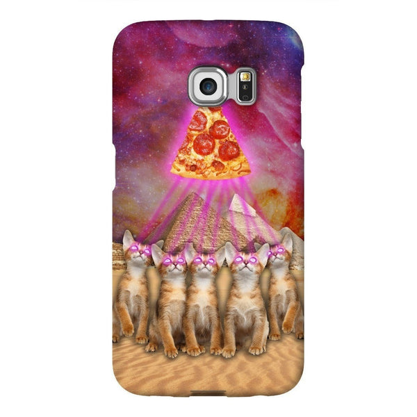 The Great Pyramid of Pizza Smartphone Case-Gooten-Samsung S6 Edge-| All-Over-Print Everywhere - Designed to Make You Smile