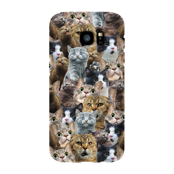 Scaredy Cat Invasion Smartphone Case-Gooten-Samsung Galaxy S7 Edge-| All-Over-Print Everywhere - Designed to Make You Smile