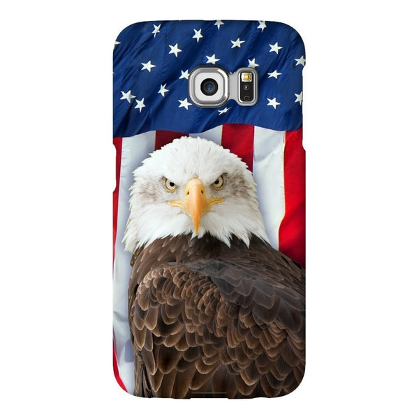 Bald Eagle Smartphone Case-Gooten-Samsung S6 Edge-| All-Over-Print Everywhere - Designed to Make You Smile