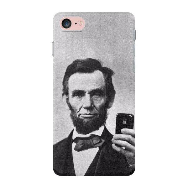 Abraham Lincoln Selfie Smartphone Case-Gooten-iPhone 7-| All-Over-Print Everywhere - Designed to Make You Smile
