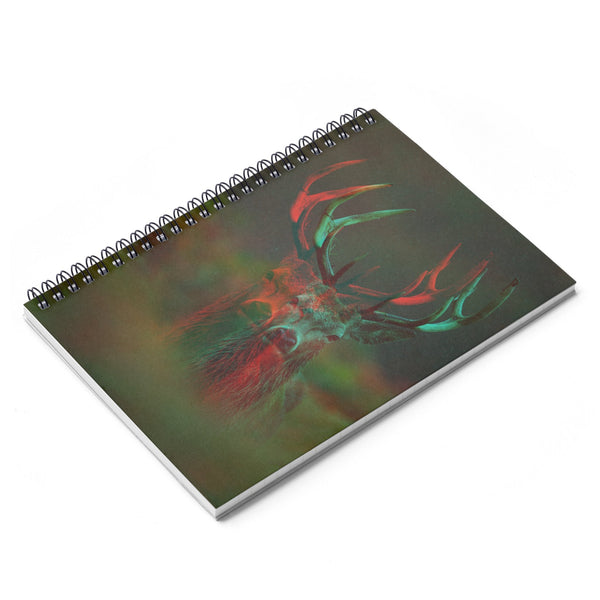 Deer Spiral Notebook-Printify-| All-Over-Print Everywhere - Designed to Make You Smile