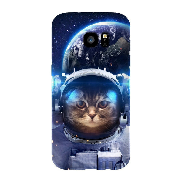 Astronaut Cat Smartphone Case-Gooten-Samsung S7 Edge-| All-Over-Print Everywhere - Designed to Make You Smile