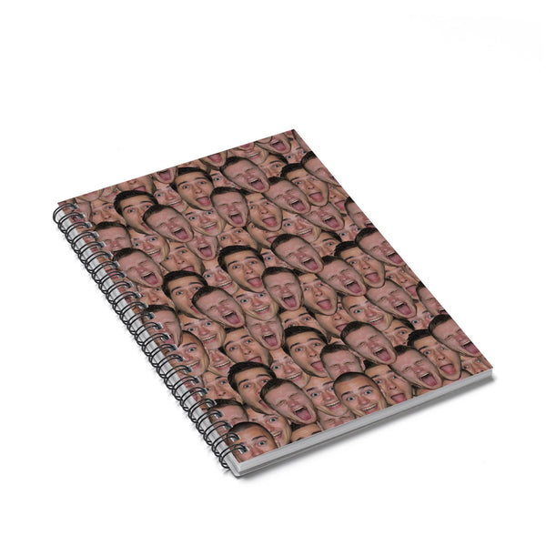 Your Face Custom Spiral Notebook-Shelfies-Spiral Notebook-| All-Over-Print Everywhere - Designed to Make You Smile