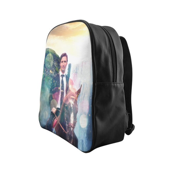 Dreamy Trudeau Backpack-Printify-| All-Over-Print Everywhere - Designed to Make You Smile