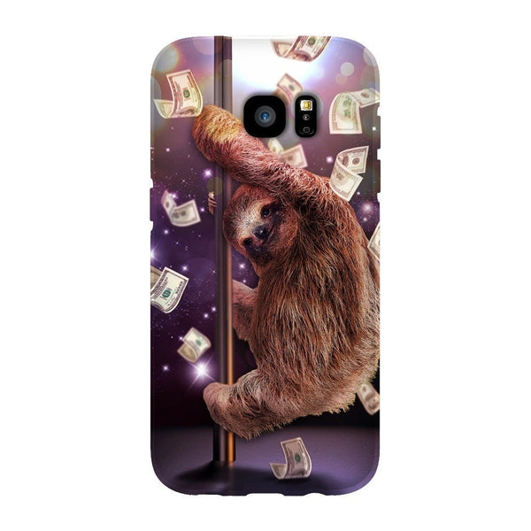 Stripper Sloth Smartphone Case-Gooten-Samsung Galaxy S7 Edge-| All-Over-Print Everywhere - Designed to Make You Smile