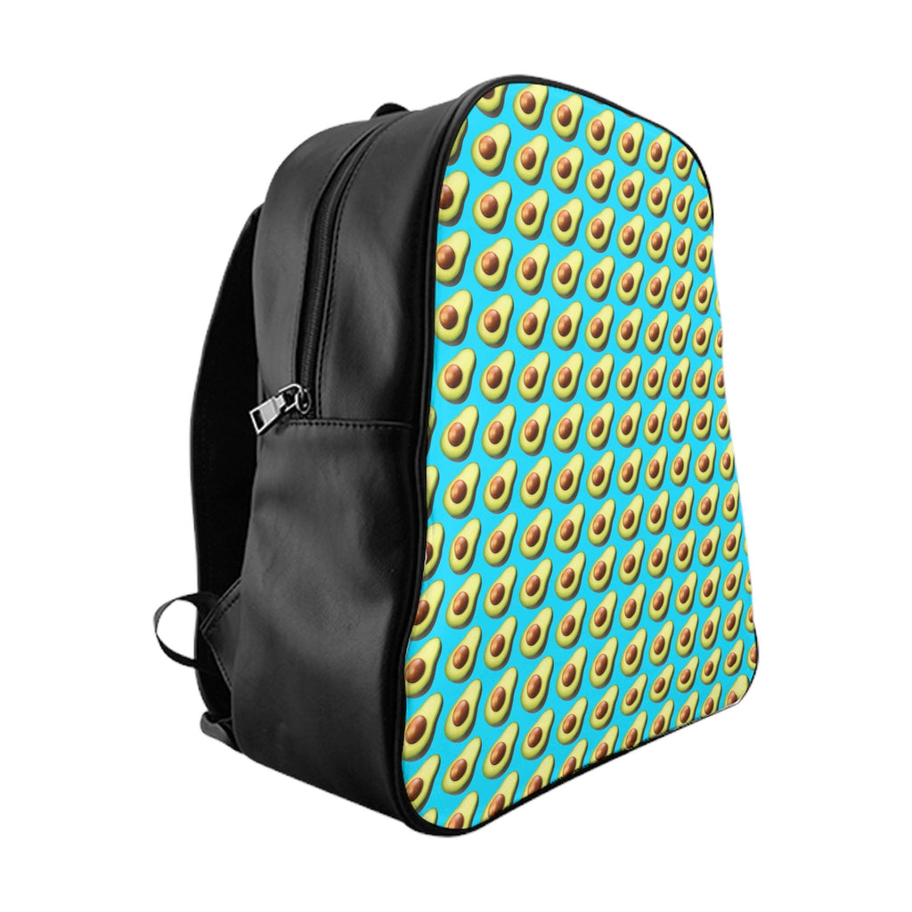 Avocado Emoji Backpack-Printify-Large-| All-Over-Print Everywhere - Designed to Make You Smile