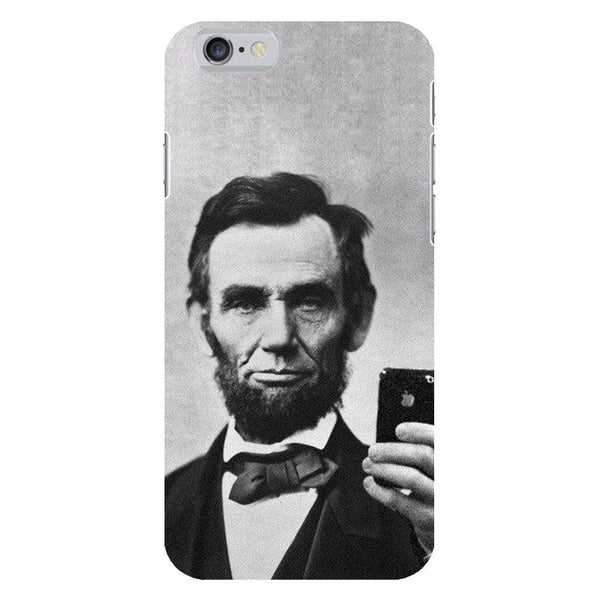 Abraham Lincoln Selfie Smartphone Case-Gooten-iPhone 6/6s-| All-Over-Print Everywhere - Designed to Make You Smile
