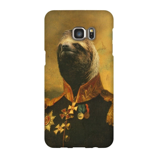 Commander Sloth Smartphone Case-Gooten-Samsung S6 Edge Plus-| All-Over-Print Everywhere - Designed to Make You Smile