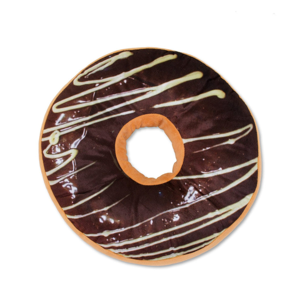 3D Donut Pillows-Shelfies-Chocolate-| All-Over-Print Everywhere - Designed to Make You Smile