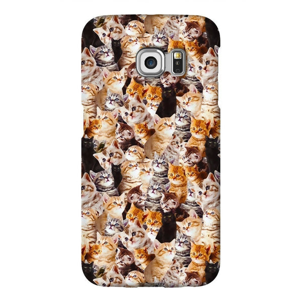 Kitty Invasion Smartphone Case-Gooten-Samsung S6 Edge-| All-Over-Print Everywhere - Designed to Make You Smile