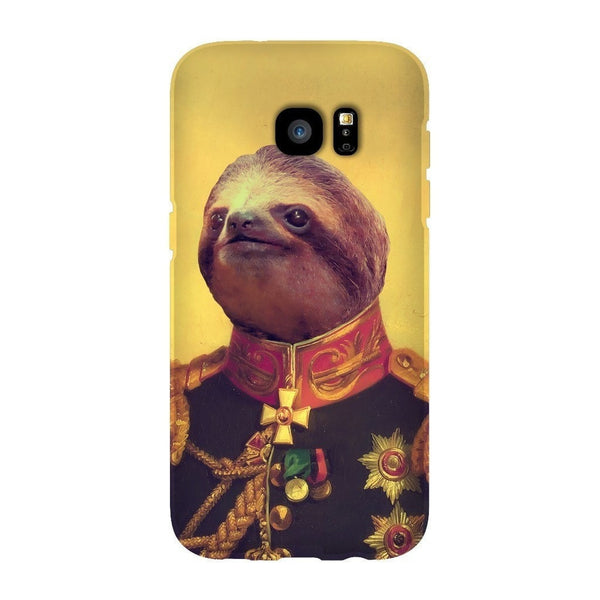 Lil' General Sloth Smartphone Case-Gooten-Samsung S7 Edge-| All-Over-Print Everywhere - Designed to Make You Smile