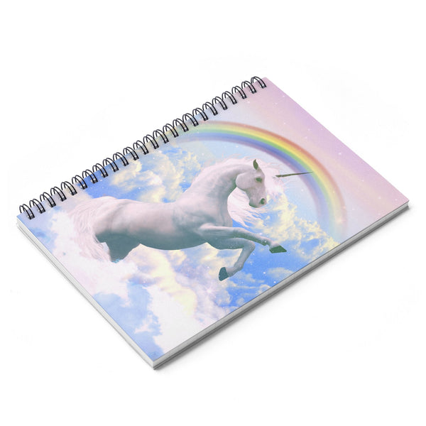 Magical Unicorn Spiral Notebook-Printify-| All-Over-Print Everywhere - Designed to Make You Smile
