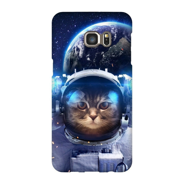 Astronaut Cat Smartphone Case-Gooten-Samsung S6 Edge Plus-| All-Over-Print Everywhere - Designed to Make You Smile
