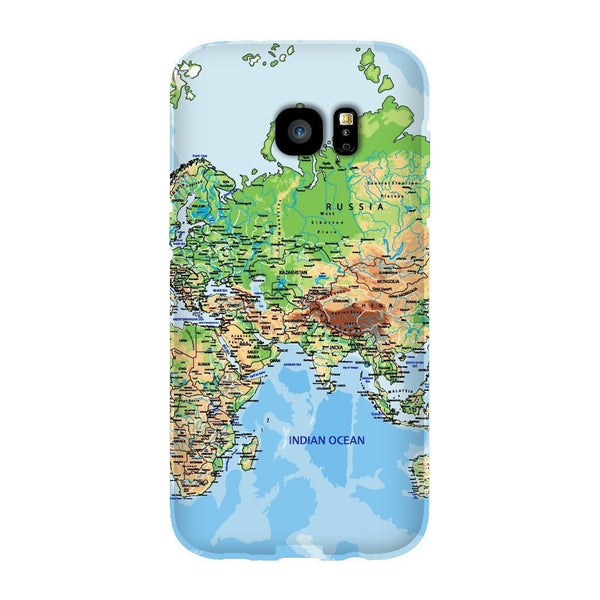 World Map Europe & Asia Smartphone Case-Gooten-Samsung S7 Edge-| All-Over-Print Everywhere - Designed to Make You Smile